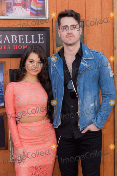 Ariel Yasmine Photo - WESTWOOD LOS ANGELES CALIFORNIA USA - JUNE 20 Ariel Yasmine and Santi arrive at the Los Angeles Premiere Of Warner Bros Annabelle Comes Home held at Regency Village Theatre on June 20 2019 in Westwood Los Angeles California United States (Photo by Rudy TorresImage Press Agency)