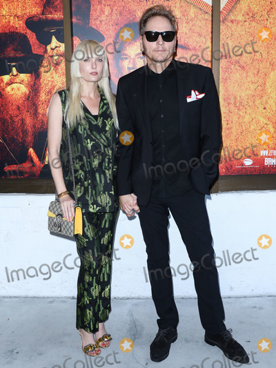 Ace Harper Photo - HOLLYWOOD LOS ANGELES CALIFORNIA USA - AUGUST 13 Ace Harper and husbanddrummer Matt Sorum arrive at the Los Angeles Premiere Of ZZ Top That Little Ol Band From Texas held at ArcLight Cinemas Cinerama Dome on August 13 2019 in Hollywood Los Angeles California United States (Photo by David AcostaImage Press Agency)