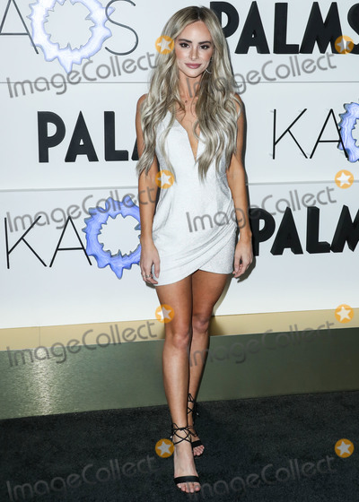 Amanda Stanton Photo - LAS VEGAS NEVADA USA - APRIL 05 Amanda Stanton arrives at the Kaos Dayclub and Nightclub Grand Opening Weekend At Palms Casino Resort held at Kaos Dayclub and Nightclub at Palms Casino Resort on April 5 2019 in Las Vegas Nevada United States (Photo by Xavier CollinImage Press Agency)