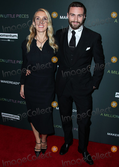 Aaron Taylor-Johnson Photo - WEST HOLLYWOOD LOS ANGELES CALIFORNIA USA - DECEMBER 04 Sam Taylor-Johnson and husband Aaron Taylor-Johnson arrive at the Los Angeles Special Screening Of Momentum Pictures A Million Little Pieces held at The London Hotel West Hollywood at Beverly Hills on December 4 2019 in West Hollywood Los Angeles California United States (Photo by Xavier CollinImage Press Agency)