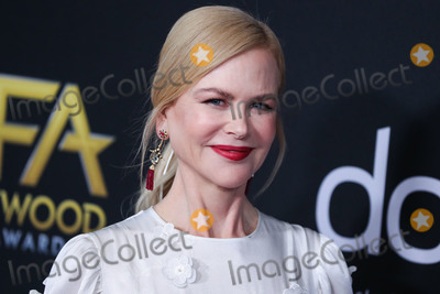 Nicole Kidman Photo - BEVERLY HILLS LOS ANGELES CALIFORNIA USA - NOVEMBER 03 Actress Nicole Kidman wearing Loewe arrives at the 23rd Annual Hollywood Film Awards held at The Beverly Hilton Hotel on November 3 2019 in Beverly Hills Los Angeles California United States (Photo by Xavier CollinImage Press Agency)
