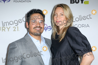 Michael Pena Photo - BEVERLY HILLS LOS ANGELES CALIFORNIA USA - NOVEMBER 15 Michael Pena and Brie Shaffer arrive at the Eva Longoria Foundation Dinner Gala 2019 held at the Four Seasons Los Angeles at Beverly Hills on November 15 2019 in Beverly Hills Los Angeles California United States (Photo by Image Press Agency)