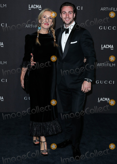 Aaron Taylor-Johnson Photo - LOS ANGELES CA USA - NOVEMBER 03 Sam Taylor-Johnson Aaron Taylor-Johnson at the 2018 LACMA Art  Film Gala held at the Los Angeles County Museum of Art on November 3 2018 in Los Angeles California United States (Photo by Xavier CollinImage Press Agency)
