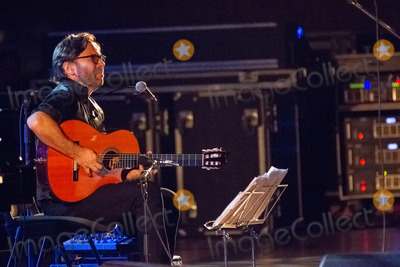Al Di Meola Photo - LISBOA PORTUGAL - DECEMBER 11 Al Di Meola and Gonzalo Rubalcaba performing live at Aula Magna on December 11 2012 in Lisboa Portugal (Photo by Rui M LealImageCollectcom)