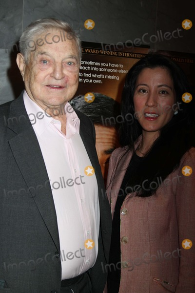 George Soros Photo - The Intouchables Screening and Celebration of Harvey Weinsteins Legion Dhonneur Paley Center For Media NYC April 30 2012 Photos by Sonia Moskowitz Globe Photos Inc 2012 George Soros Tamiko Bolton