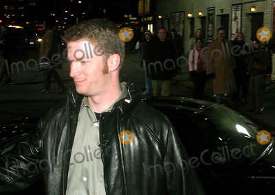 Dale Earnhardt Jr Photo - Dale Earnhardt Jr at the David Letterman Show  New York City 02172004 Photo by Rick MacklerrangefindersGlobe Photosinc