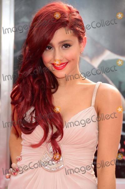 Arianna Grande Photo - Arianna Grande Harry Potter Premiere Lincoln Center nyc 07-11-2011 Photo by Ken Babolcsay- IpolGlobe Photo