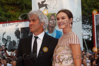 Kasia Smutniak Photo - Domenico Procacci and Kasia Smutniak Attend the Premiere of Everest During the Opening of the 72nd Venice Film Festival at Palazzo Del Cinema in Venice Italy on 02 September 2015 Photo Alec Michael