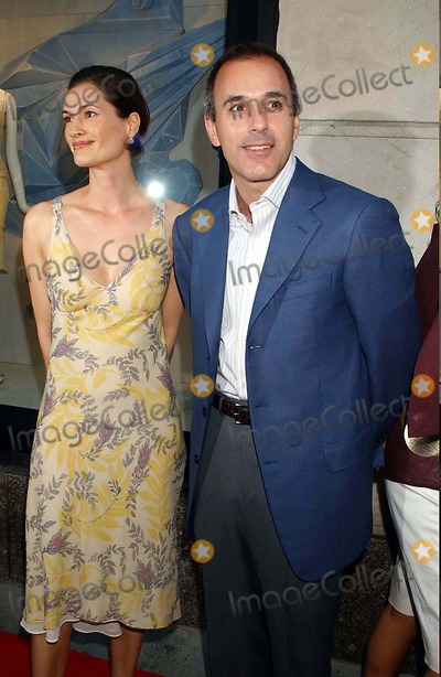Annette Roque Lauer Photo - Celebration at Bergdorf Goodman For Madonnas Latest Childrens Book  Lotsa DE Casha New York City 06-07-2005 Photo Ken Babolcsay-ipol-Globe Photosinc 2005 Annette Roque Lauer Matt Lauer