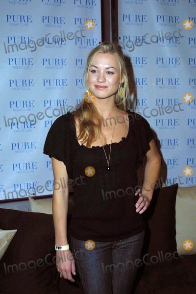 Yvonne Strzechowski Photo - the Cast of Nbcs New Show Chuck Attend a Premiere Party at Pure Nightclub Las Vegas NV 09-22-2007 Photo by Ed Geller-Globe Photos 2007 Yvonne Strzechowski