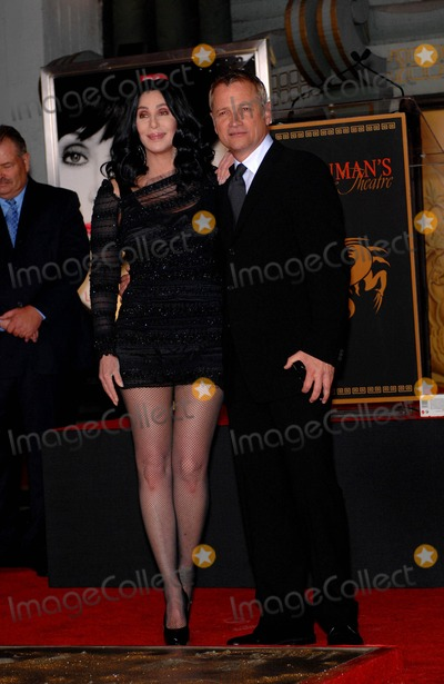 Clint Culpepper Photo - Cher and Clint Culpepper During a Ceremony Honoring Cher Immortalizing Her with Hand and Footprints in Cement in the Forecourt of Graumans Chinese Theatre on November 18 2010 in Los Angeles Photo Michael Germana - Globe Photos Inc 2010