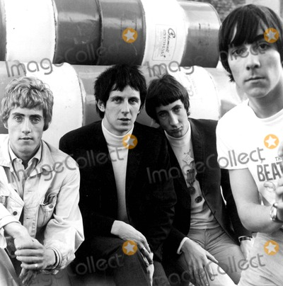 Keith Moon Photo - The Who Roger Daltrey John Entwistle Pete Townshend and Keith Moon Photo Supplied by Smp-Globe Photos