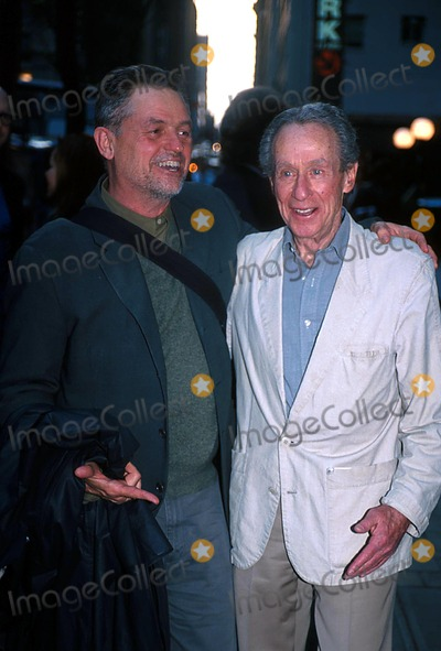 Arthur Penn Photo -  41502 the Private Screening of the Film Triumph of Love Co-hosted by Jonathan Demme at Sweetlands in NYC Jonathan Demme with Arthur Penn Photo by John KrondesGlobe Photos Inc