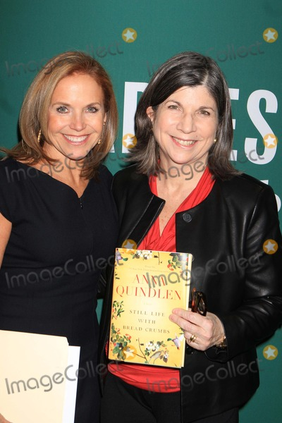 Anna Quindlen Photo - Exclusive Anna Quindlen with Katie Couric Promote Her Latest Book Still Life with Bread Crumbs at Barnes Noble Union Square 1-26-2014 John BarrettGlobe Photos
