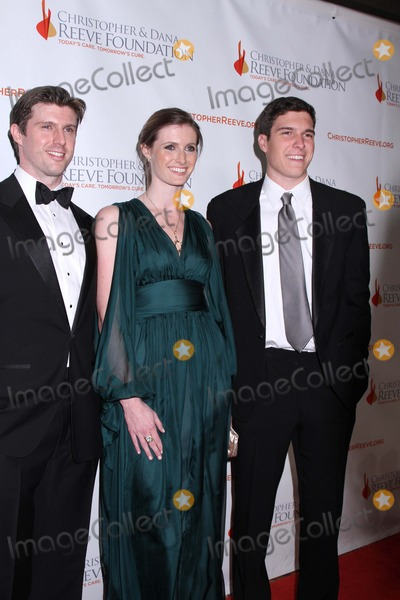 Alexandra Reeve Photo - Christopher and Dana Reeve Foundation Hosts a Magical Evening Gala Cipriani Wall Street NYC November 30 2011 Photos by Sonis Moskowitz Globe Photos Inc 2011 Matthew Reeve Alexandra Reeve Givens Will Reeve