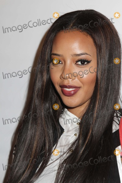 Angela Simmons Photo - Tracy Reese Fashion Show Fall 2013 Celebrities Mercedes Benz NY Fashion Week Lincoln Center NYC Photos by Sonia Moskowitz Globe Photos Inc 2013 Angela Simmons