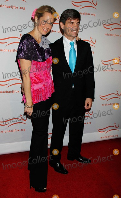 Ali Wentworth Photo - George Stephanopoulos and Ali Wentworth arrive for A Funny Thing Happened on the Way to Cure Parkinsons Benefit  for the Michael J Fox Foundation for Parkinsons Research at the Waldorf Astoria Hotel in New York on November 12 2011      Photo by Sharon NeetlesGlobe Photos Inc