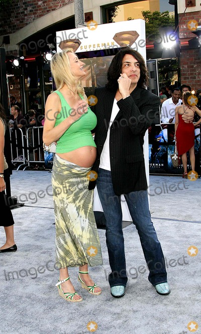 Paul Stanley Photo - Paul Stanley and Wife - Superman Returns World Premiere - Mann Village Theater Westwood California - 06-21-2006 - Photo by Nina PrommerGlobe Photos Inc 2006