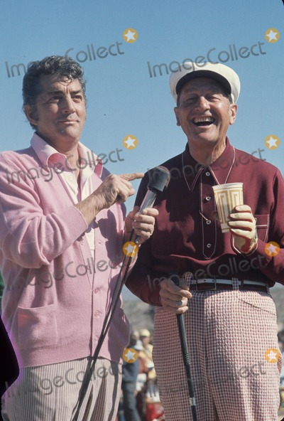 Dean Martin Photo - Lawrence Welk Dean Martin at Tucson Open Golf Pro-am 1975 M6756a Supplied by Globe Photos Inc