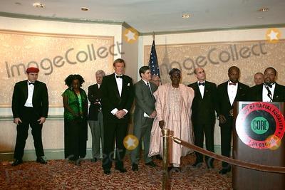 NIGER INNES Photo - 2005 Congress of Racial Equality - Core Awards New York City 01-17-2005 Photo Rick Mackler-rangefinders-Globe Photos Inc 2005 Curtis Sliwa Roy Innes Niger Innes Hugh Grant