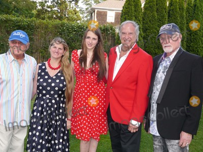 The Beach Boys Photo - Bruce Johnston Bonnie Comley Leah Lane Stewart Lane and Mike Love at the Beach Boys Concert at Guild Hall Guild Hall East Hampton NY July 3 2015 Photos by Sonia Moskowitz Globe Photos Inc