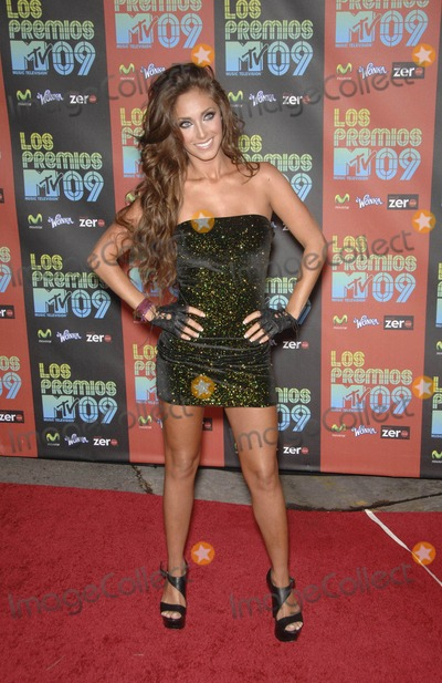 Anahi Photo - Anahi During the Los Premios Mtv Latin America 2009 Event Held at the Gibson Amphitheater on October 15 2009 in Los Angeles Photo by Michael Germana - Globe Photos Inc