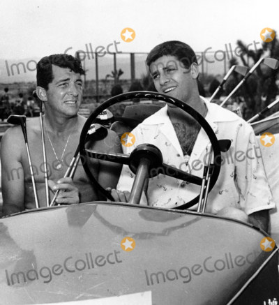 Dean Martin Photo - Dean Martin_jerry Lewis at Apple Valley Inn Weekend of Their Living It Up Premiere Junket Globe Photosinc