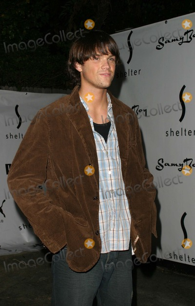 Jared Padalecki Photo - Jared Padalecki - Puma Bodywear Launch Party - Puma Launches Naughty - Action - Daily - Shelter Supper Club West Hollywood CA - 07292004 - Photo by Nina PrommerGlobe Photos Inc2004