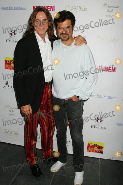 Anil Kapoor Photo - George Blodwells Surprise Birthday Bash Hosted by German Entertainment Television Guys  Dolls West Hollywood California 07-13-2009 George Blodwell and Anil Kapoor Photo Clinton H Wallace-photomundo-Globe Photos Inc