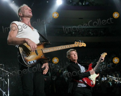 Andy Summers Photo - The Police Concert at Madison Square Garden Date 08-03-07 Photos by John Barrett-Globe Photosinc Stingandy Summers