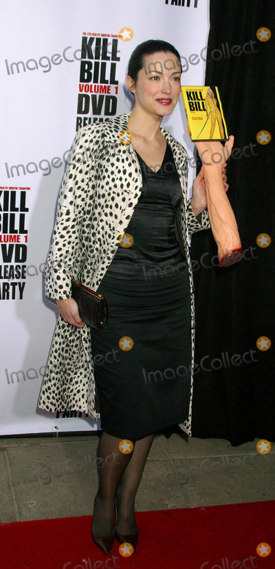 Julie Dreyfus Photo - Kill Bill Vol 1 Dvd Release Party at the Playboy Mansion Holmbly Hills CA 04122004 Photo by Clinton H WallaceGlobe Photos Inc 2004 Julie Dreyfus