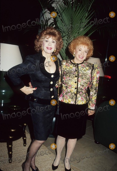Audrey Meadows Photo - Jayne Meadows with Audrey Meadows 1991 L1173 Photo by Craig Skinner-Globe Photos Inc
