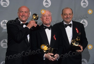 Arif Photo - Mike Stoller with Jerry Leiber and Arif Mardin at 1996 Grammy Awards Los Angeles Ca L4043lr Photo by Lisa Rose-Globe Photos Inc