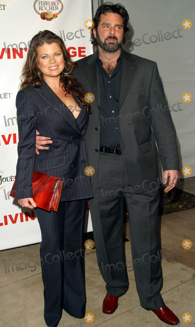 Yasmine Bleeth Photo - Yasmine Bleeth and Husband Paul Cerrito Carmen Electras Engagement Party - Pacific Design Center Los Angeles CA - February 13 2003 - Photo by Nina PrommerGlobe Photos Inc2003