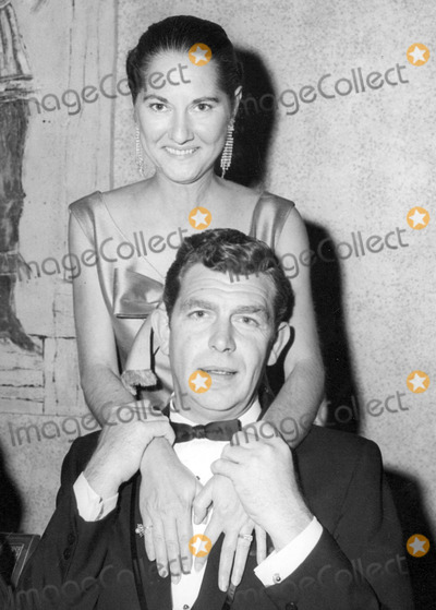 Andy Griffith Photo - Andy Griffith and Wife Barbara Photo by Globe Photos