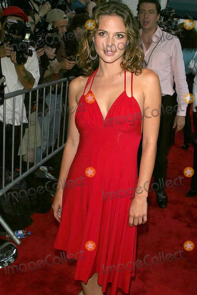 JOSIE MORAN Photo - World Premiere of the Manchurian Candidate at Clearview Cinemas Beekman Theatre  New York City 07192004 Photo John BarrettGlobe Photosinc 2004 Josie Moran