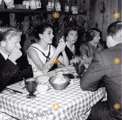 Jimmy Boyd Photo - Nancy Sinatra with Jimmy Boyd  Mrs Phil Crosby at the Villa Capri 1959 Supplied by Globe Photos Inc