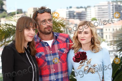 Alice Winocour Photo - Director Alice Winocour (L) Actors Diane Kruger and Matthias Schoenaerts Attend the Photocall of Maryland - Disorder at the 68th Annual Cannes Film Festival at Palais Des Festivals in Cannes France on 16 May 2015 Photo Alec Michael