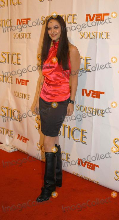Marisa Ramirez Photo - Solstice - Spring 2003 Designer Fashion Show and Launch Party Ivar Hollywood CA 03012003 Photo by Tom Rodriguez  Globe Photos Inc 2003 Marisa Ramirez