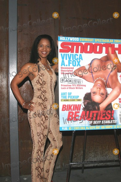 April Weeden Washington Photo - 42004 Smooth Magazine Celebrates Its Vivica Fox Swimsuit Cover Issue with Hot Hollywood Party at Club Ivar 6356 Hollywood CA April Weeden Washington