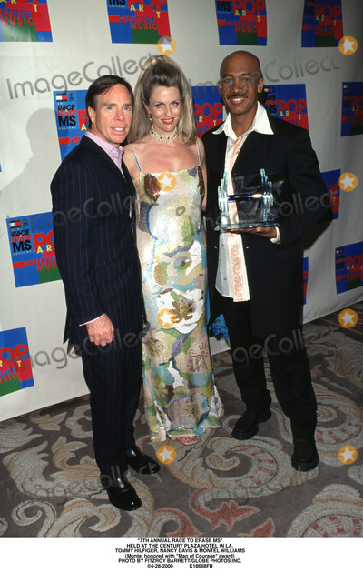 Montel Williams Photo - 7th Annual Race to Erase MS Held at the Century Plaza Hotel in LA Tommy Hilfiger Nancy Davis  Montel Williams (Montel Honored with Man of Courage Award) Photo by Fitzroy BarrettGlobe Photos Inc 4-28-2000