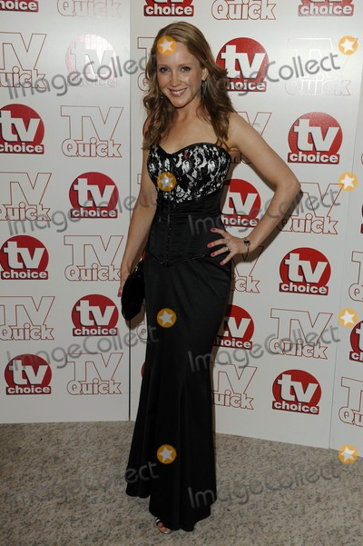 Julia Haworth Photo - Julia Haworth Actress 2009 Tv Quick and Tv Choice Awards at Dorchester Hotel in Park Lane  London  England 09-07-2009 Photo by Neil Tingle-allstar-Globe Photos Inc