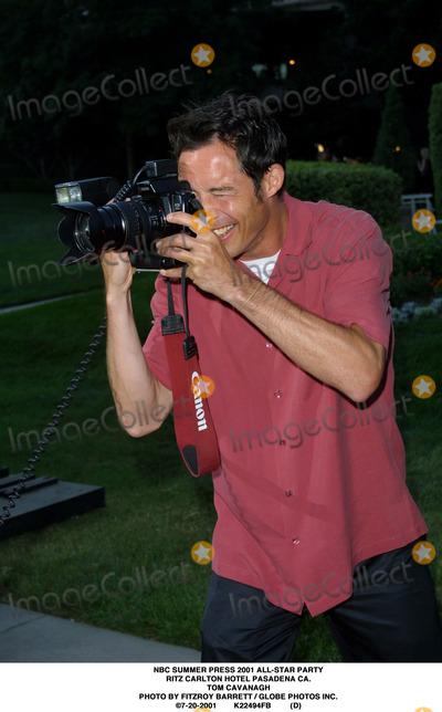 RITZ CARLTON Photo - NBC Summer Press 2001 All-star Party Ritz Carlton Hotel Pasadena CA Tom Cavanagh Photo by Fitzroy Barrett  Globe Photos Inc 7-20-2001 K22494fb (D)