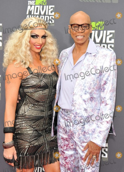 Alyssa Edwards Photo - Rupaul Alyssa Edwards attending the 2013 Mtv Movie Awards - Arrivals Held at the Sony Pictures Studios in Culver City California on April 14 2013 Photo by D Long- Globe Photos Inc