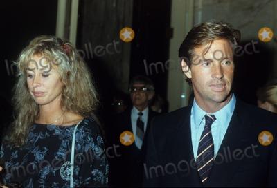 Alan Hunter Photo - Robert Hays with Rory Flynn 1983 Photo by Alan Hunter-Globe Photos Inc