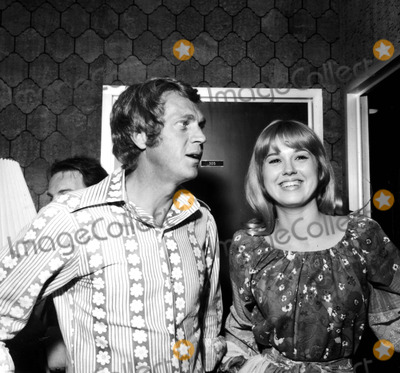 Lee Purcell Photo - Steve Mcqueen and Lee Purcell c1053-1h Nate CutlerGlobe Photos Inc