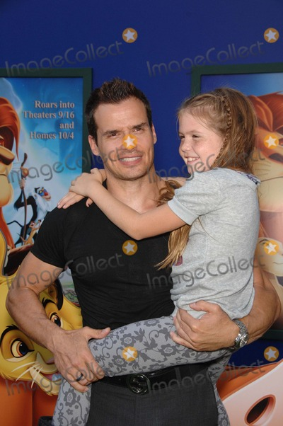 Antonio Sabato Jr Photo - Antonio Sabato Jr and Mina Bree Sabato During the Premiere Walt Disney Studios Re-release of the the Lion King 3d Held at the El Capitan Theatre on August 27 2011 in Los Angeles Photo Michael Germana - Globe Photos Inc