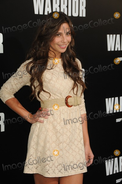 Ana Ayora Photo - Ana Ayora attending the World Premiere of Warrior Held at the Arclight Theater in Hollywood California on 9611 Photo by D Long- Globe Photos Inc