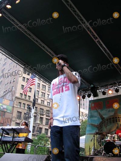 J Holiday Photo - J Holiday Performs at Jr Musicfest City Hall Park New York City 08-24-2007 Photo by Mark Kasner-Globe Photos