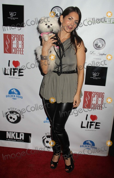 Anya Monzikova Photo - No Kill LA Charity Event Hosted by Jasmine Dustin and Anya Monzikova Mauros Cafefred Segal West Hollywood CA 04022013 Raquel Gardner Photo Clinton H Wallace-Globe Photos Inc
